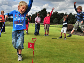 kids golf fun teach
